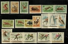 Hungary #C111-120,C158-165 Complete set MH