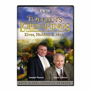 ELVES, HOBBITS & MEN. LORD OF THE RINGS TOLKIEN CLASSIC * AN EWTN DVD