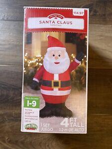 Air Blown Inflatable Santa Claus Christmas Yard Decoration Gemmy
