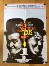 Zwei ritten nach Texas (Kinoplakat ´67) - Oliver Hardy / Stan Laurel / Atlas