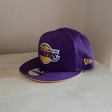 LA Lakers 9FIFTY Purple Snapback Hat - Size Small/Medium