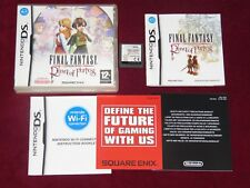 NINTENDO DS FINAL FANTASY RING OF FATES! GB PAL UK EURO COMPLETE RPG SQUARE ENIX