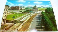 Tira De La Muerte Muro Puerta De Brandenburgo Berlín Tarjeta Postal Años 50