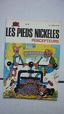 PELLOS / LES PIEDS NICKELES  75 / PERCEPTEURS   / EO