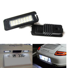 LED License Plate Light For Porsche Boxster Cayman Carrera Cayenne 987/997/958