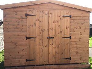 Garden Shed 10x12 Apex Heavy Duty Shiplap Wooden