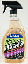 New De-Solv-it Pro Strength Contractors Cleaner Degreaser 32 fl oz Spray Bottle