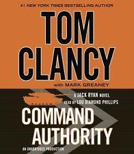 Tom CLANCY / COMMAND AUTHORITY           [ Audiobook ]
