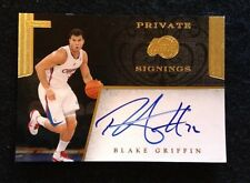 Blake Griffin 2011-12 Panini Private Signings Auto