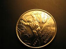 Canada 2009 Vancouver 2010 Olympics Men's Hockey Plain 25 Cent Mint Coin.
