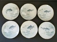 Rosenthal Copenhagen Fish Plates Set Of 6