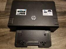 HP NZ222UT#ABA 120W Advanced Docking Station with Power Supply/Adapter Elitebook