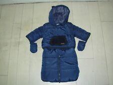 VERTBAUDET Combinaison Pilote / Doudoune bébé 3mois (60cm) bleu marine