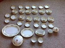 C 1933 Noritake China Pattern: Alvin 58 Piece Set Service for 11 plus extras