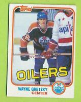 1981-82 Topps - Wayne Gretzky (#18)  Edmonton Oilers