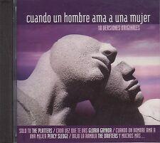 Percy Sledge Jerry Butler Cuando Un Hombre Ama A Una Mujer CD No Plastic Seal