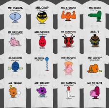 Mens Funny T-Shirt, Rude, Offensive, Joke, Mash Up, Parody, Slogan,Crude,TEE,TOP