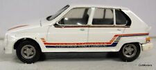 Quiralu 1/43 Scale Citroen Visa II Vintage White metal model car in white + dec