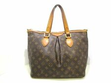 Auth LOUIS VUITTON Palermo PM M40145 Monogram Canvas SD4018 Handbag w/Dust Bag