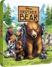 Brother Bear Limited Edition Steelbook Bluray UK Exclusive NEW SEALED