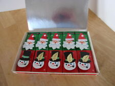 Vintage 3-D Holiday Christmas Matches New