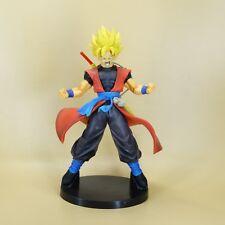 "DragonBall Z dbz SUPER Saiyan GOKU Statue pvc figure 8"" loose  #HF4"