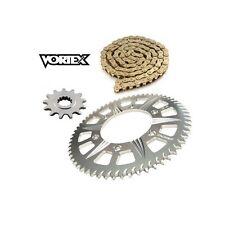 Kit Chaine STUNT - 15x65 - GSXR 1000  01-08 SUZUKI - conversion 525 Chaine Or