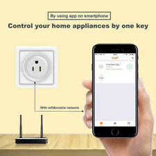 WiFi Smart Phone Remote Control Timer Switch Power Socket Voice Control US Plug