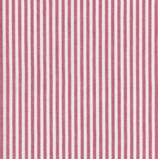 Textiles français Woven Marine Stripe fabric (Red) - 100% Cotton 150 cm wide