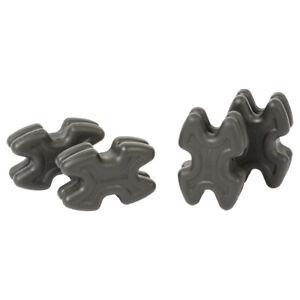 Limbsaver 4720 Twistlox Split Limb Dampener Bow- Black 4 Pack