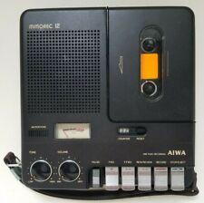 Vintage Aiwa Mimorec 12 Portable Cassette Recorder With Case