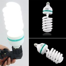150W 5500K E27 Photo Studio Bulb Video Light Photography Daylight Lamp 220V UL