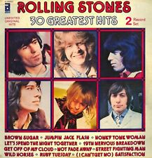 The Rolling Stones 30 Greatest Hits 2xLP, Comp ABKCO - NL 03042(2) Italy 1977...