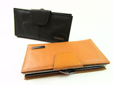 Leather Trifold Women's Purses & Wallets with Credit Card