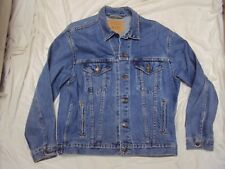 Levi's Men's Denim Jacket  Adult Size Medium Pre-owned
