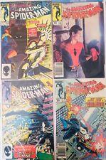 Lote 4 Comics The Amazing Spiderman Originales Americanos 1st series.