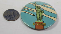 New York Statue of Liberty Pinback Collectible Pin Rare Vintage