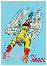 POWER PIN-UP Print - ANGEL A X-Men Vintage Artwork Marvel UK Distribution