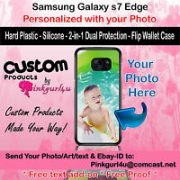 Customized Photo Custom Phone Case Cover For Samsung Galaxy s7Edge