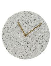 NEW Salt&Pepper Terazzo Wall Clock  28cm