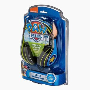 Paw Patrol Chase Kid-Friendly Headphones