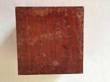 Exotic wood Pink Ivory 5x5x3