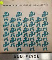 bronski beat truthdare doubledare vinyl lp Rare Vg Con
