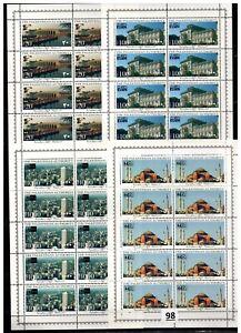 // 10X PALESTINE - MNH - ARCHITECTURE - 1996 - CHINA - GERMANY - TURKEY
