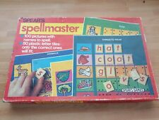 Vintage 1970'S SPEAR'S SPELL MASTER EDUCATIONAL PICTURES & SPELLING GAME/TOY