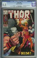 Thor # 165 CGC 6.5 ow/wp 1st Full App. of Warlock