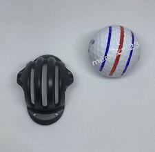 Triple (3) Line Alignment Track Golf Ball Marker Stencil - STENCIL ONLY