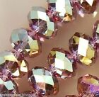 3*4mm Purple Multicolor Swarovski Crystal Beads 150PCS800