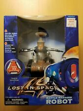 Vintage 1997 Lost in Space Battle Ravaged Robot New In Box Trendmasters