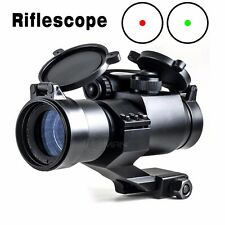 Tactical Aim M2 Red/Green Adjustable Dot Sight Hunting Rifle Scope Telescope